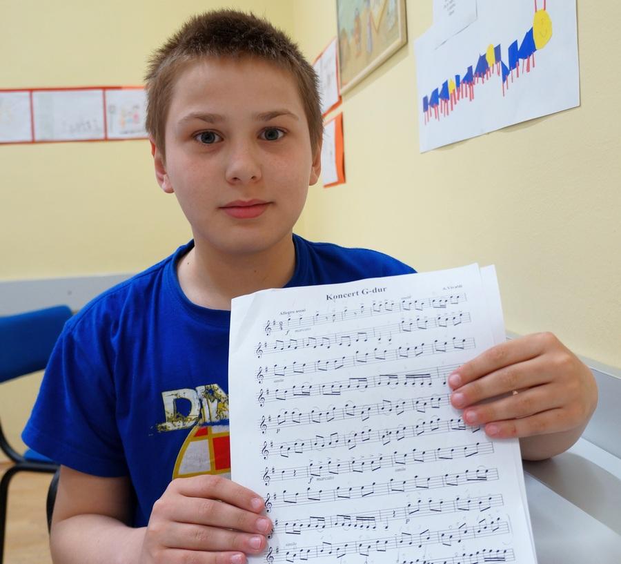 Između violine i klavira izabrao violinu