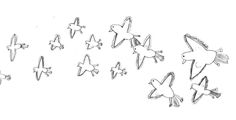 Ptice u letu