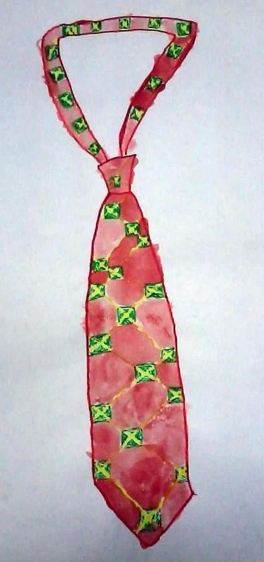 Crveno-zelena kravata