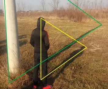 Matematičko gradivo Primjena sličnosti bolje se razumije na svježem zraku