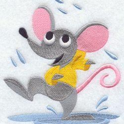Proljetna kiša smočila je miša