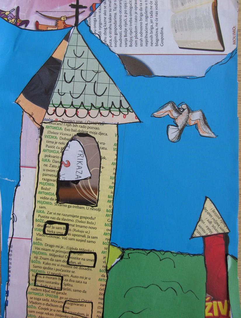 Zvonik i ptica