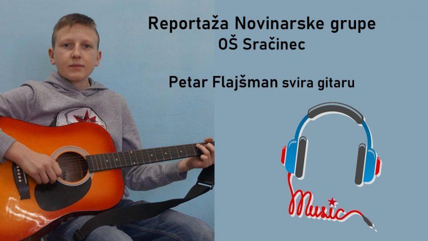 Gitarist Petar Flajšman