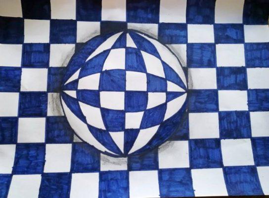 Optička iluzija u 4.b