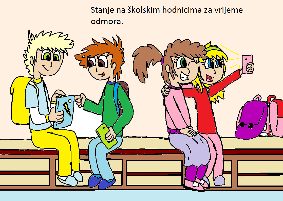 Na školskom hodniku