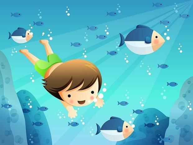 Plivanje je moj hobi