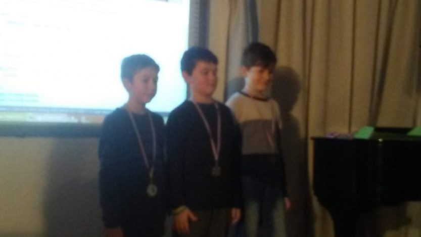 Moja prva medalja iz šaha