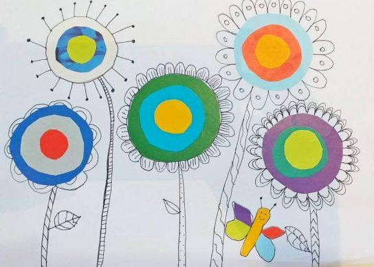 LANDART na temu Dan planeta Zemlje i čarobni cvjetići