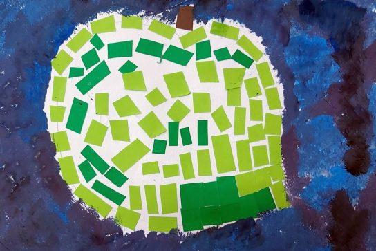 Jabuka od mozaika