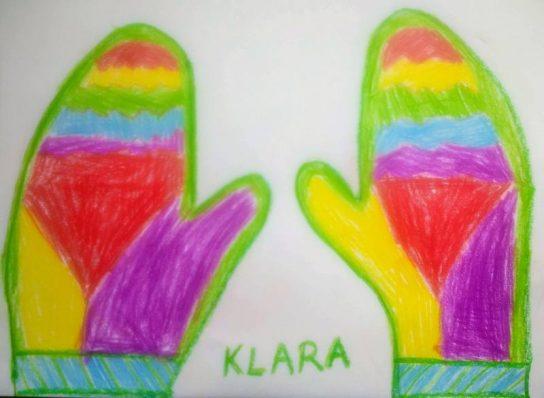 Dizajnerske rukavice učenika 2. c